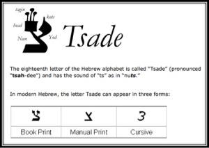 Tsade1